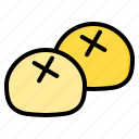 bingsu, buns, candy, egg, lollipop, steam, sweet icon