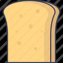 bread, bakery, food, lunch, sandwich, breakfast, slice