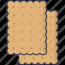 cookie, biscuit, dessert, bakery, snack