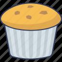 dessert, sweet, muffin, food, bakery, birthday, cupcake