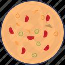 pizza, italian, food, piece, slice, fast, bakery
