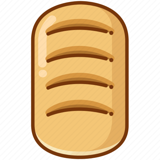 baking, bread, loaf icon