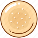 baking, bread, buns icon