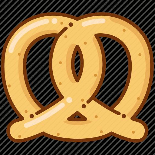 bread, food, pretzel icon