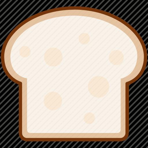 bread, breakfast, toast icon