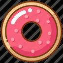 donut, doughnut, sweet icon