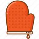 baking, gloves, kitchen icon