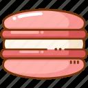 dessert, french, macaron icon