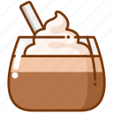 cake, cream, mousse icon