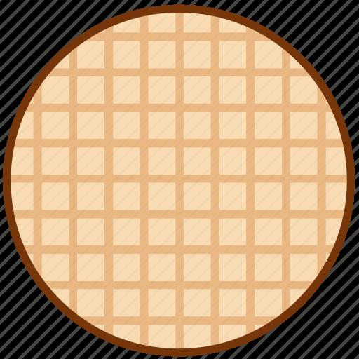 breakfast, wafer, waffle icon