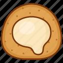 cake, lava, puff icon