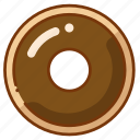 donut, doughnut, food icon