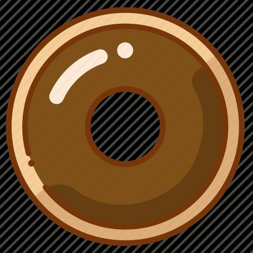 donut, doughnut, food icon