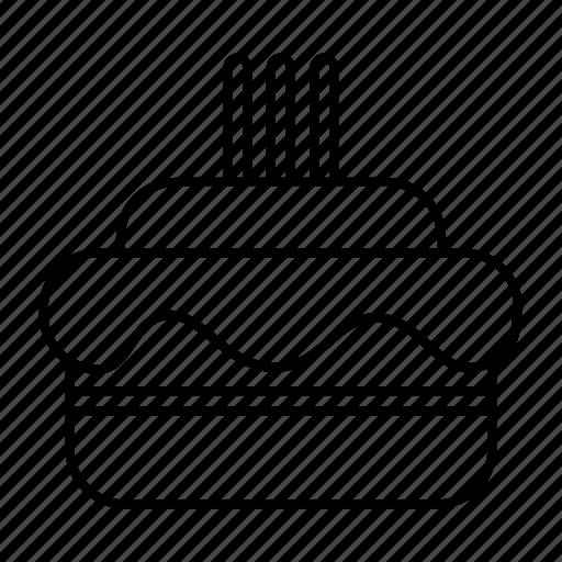 bakery, birth, birthday, cake, cakes, happy, tall icon