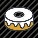 bakery, cake, chiffon, icing icon