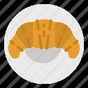 bake, baked, bakery, croissant, shop
