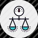balanced, choice, management, measure, scorecard, strategy icon