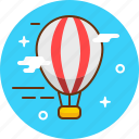 air, airbaloon, baloon, flight, fly, transport icon