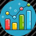 analytics, bars, chart, graph, statistic, statistics icon