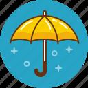 autumn, protection, rain, umbrella, weather icon