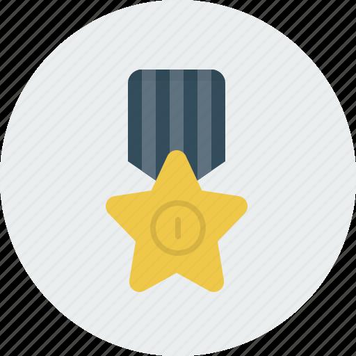award, medal, star icon