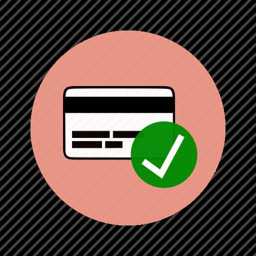 account verified, atm, bank account, bankcard, banking icon