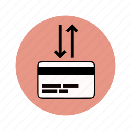 atm, bank transfer, bankcard, banking, transaction icon