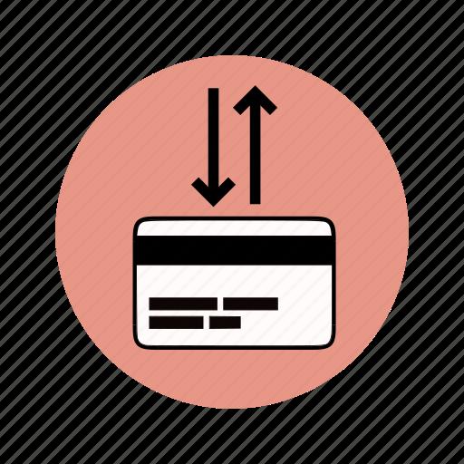atm, bank transfer, bankcard, banking, transaction icon