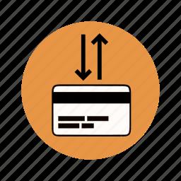 atm, bank account, bank card, bank transaction, banking icon