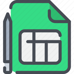 bank, business, document, file, financial, invoice icon