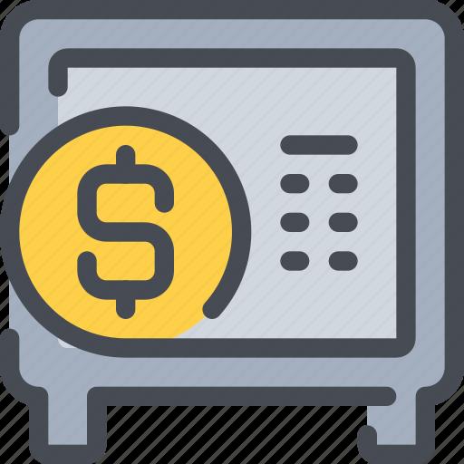 bank, banking, business, money, saving icon