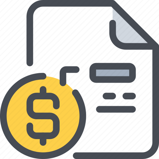 bank, business, document, file, financial, money icon