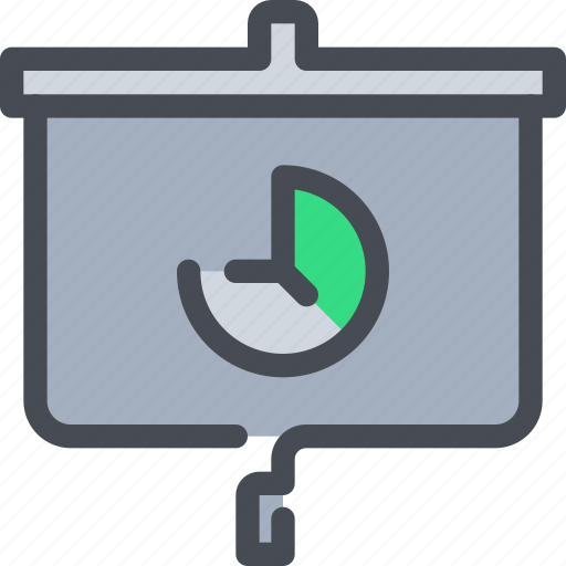 bank, business, data, finance, presentation, report icon