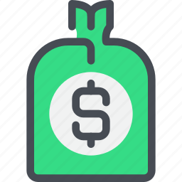 bank, banking, business, investment, money icon