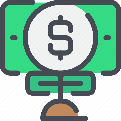 bank, business, finance, investment, money icon