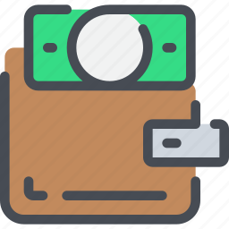 bank, business, money, payment, wallet icon