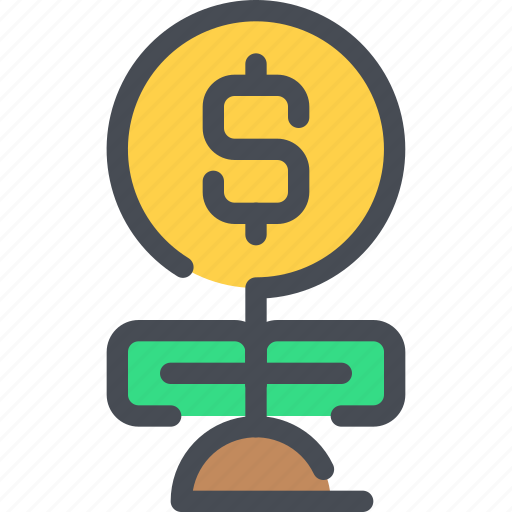 bank, business, investment, money icon