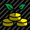 investment, money, dollar, growth