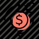 currency, exchange, money, bank