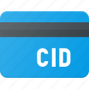 action, bank, card, cid, id, security icon