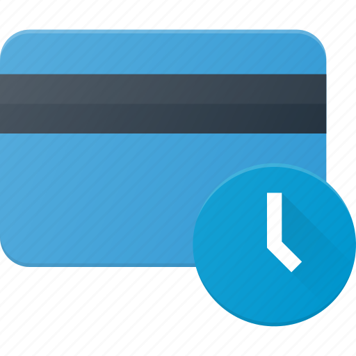 Action, bank, card, delay, time, wait icon - Download on Iconfinder