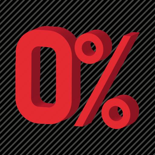 cartoon, discount, percent, percentage, sale, sign, zero icon