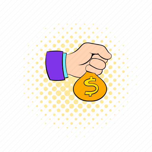 blog, business, comics, dollar, hand, money, site icon