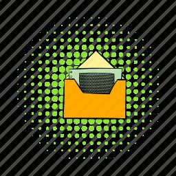 blog, business, comics, envelope, finance, money, site icon