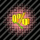 blog, business, comics, decline, down, report, revenue icon