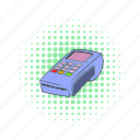 blog, card, comics, credit, site, terminal, transaction icon
