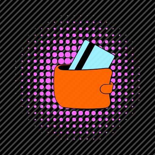 blog, card, comics, credit, money, site, wallet icon