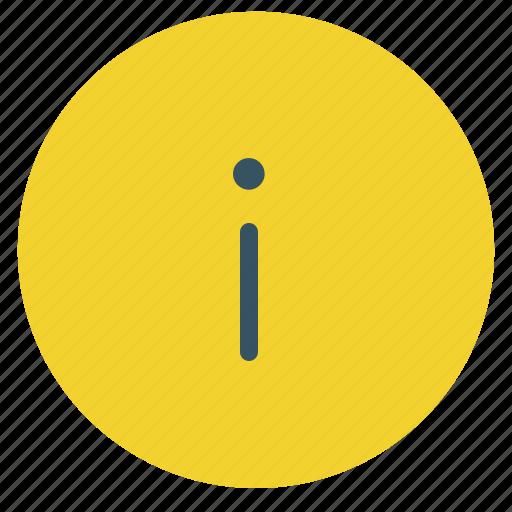 caution, communication, data, gen, i, information icon
