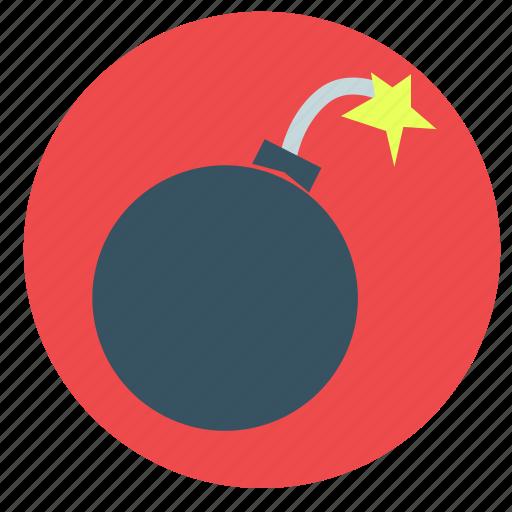 bomb, fuse, news, wick icon