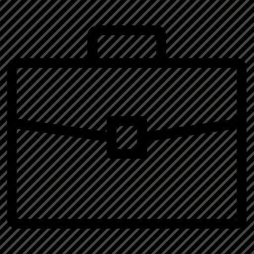 briefcase, case, office, portfolio, suitcase icon